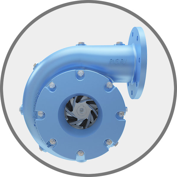 Benefits CENTRIFUGAL PUMP NC-R1 the possibility of changing the direction of rotation